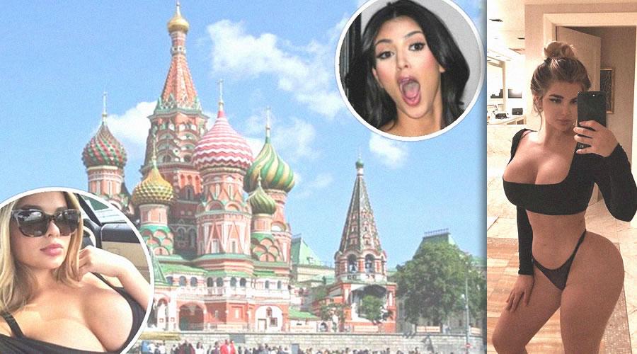 Russian Kim Kardashian Anastasia Kvitko