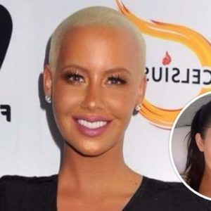 "Amber Rose Sparks Kardashian Feud Again With Comment About Kim's ""…Little Fun On A Tape."""