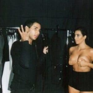 Kim Kardashian leaked dressing room pics (2)